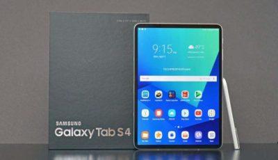 Galaxy Tab S4 akıllı tarama özelliğiyle geliyor