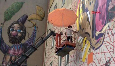Mural İstanbul Festivali sokakları renklendiriyor